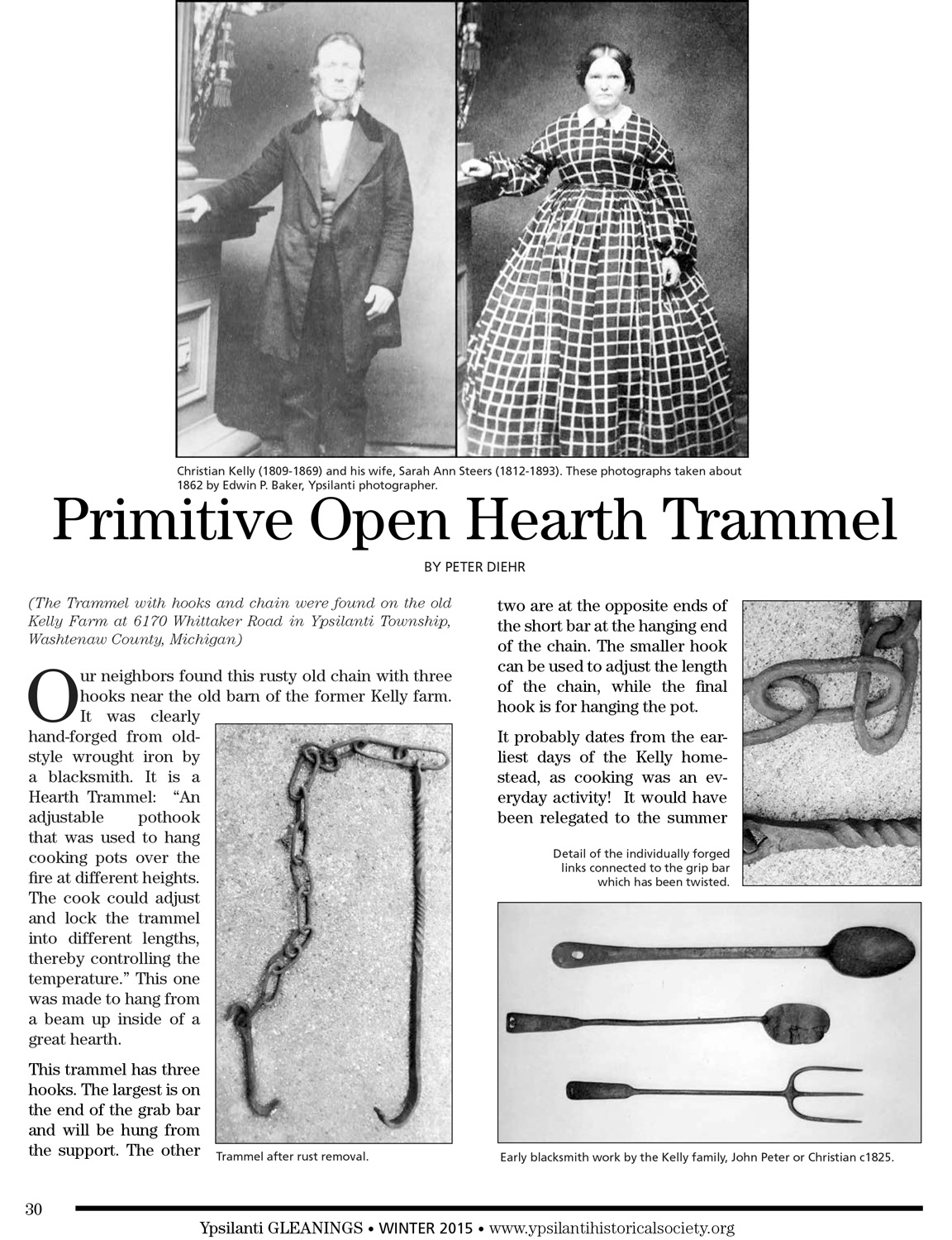 Primitive Open Hearth Trammel image