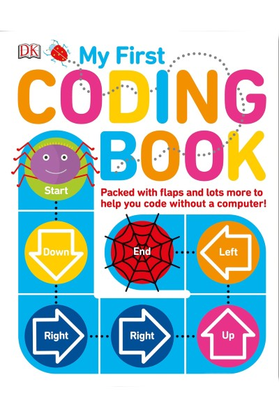 Cover image for My First Coding Book