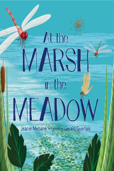 Cover image for At the Marsh in the Meadow