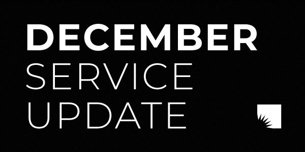 The AADL resumes vestibule service at all five of its locations beginning Wednesday (December 9) at noon. Click for details.