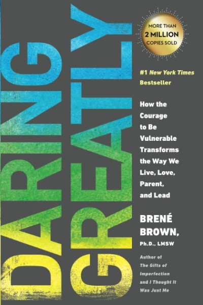 Cover image for Daring Greatly