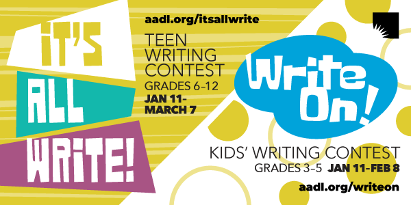 Writing Contests (Write On! ends Feb 8)