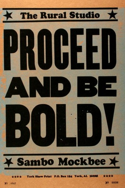 Cover image for Proceed and Be Bold