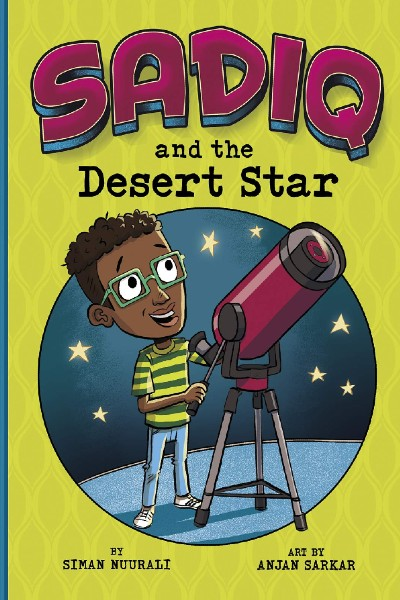 Cover image for Sadiq and the Desert Star