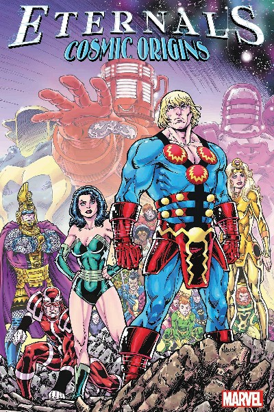 Cover image for The Eternals