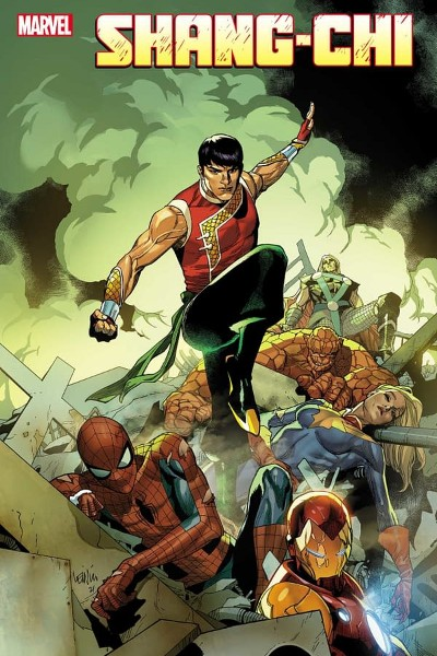 Cover image for Shang-Chi
