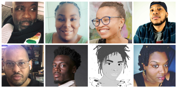 Interviews with AADL BLM muralists T'onna Clemons, Quadre Curry, Demario Dotson, John Rodriguez, Jaleesa Rosario Turner, Rachel Elise Thomas, and Curtis Wallace.