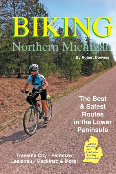 Cover image for Biking Northern Michigan