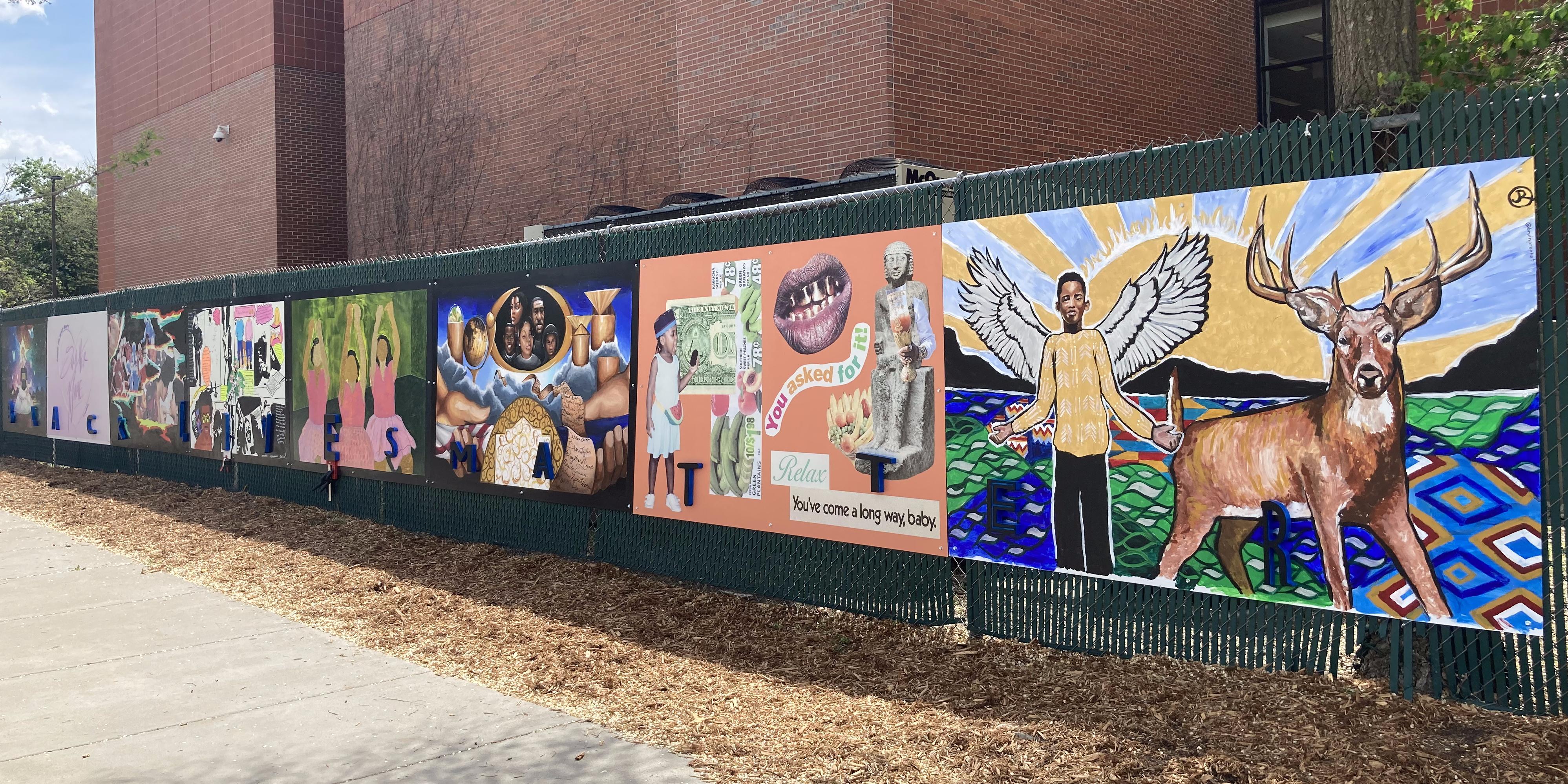 The AADL Black Lives Matter Mural