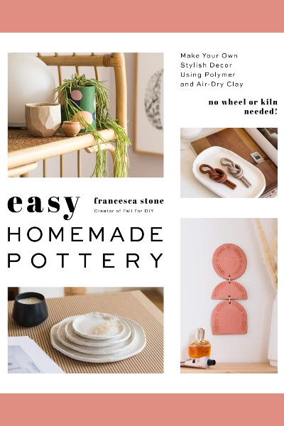Cover image for Easy Homemade Pottery