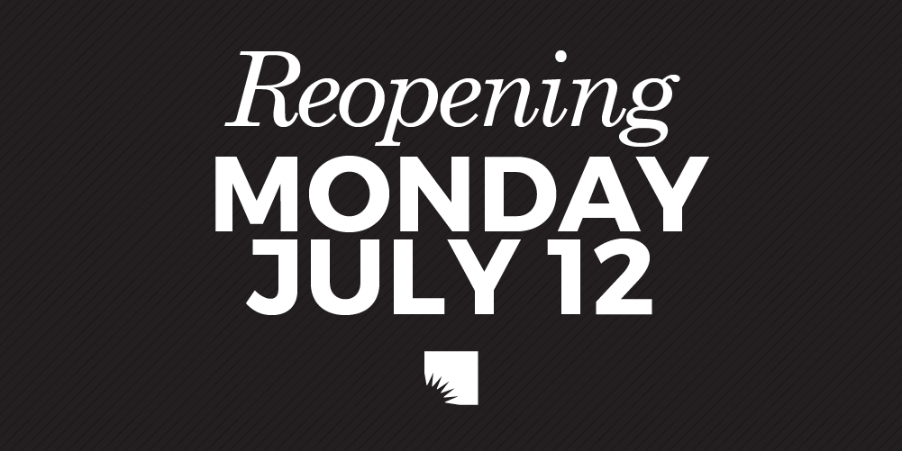 Just one week until all five AADL locations fully reopen on Monday (July 12) at noon. Click for all the details!