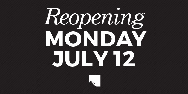 AADL REOPENING July 12
