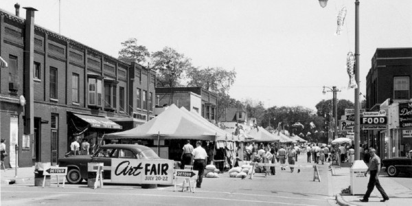 Ann Arbor Art Fair returned after a one-year absence; take another look back at its long history.