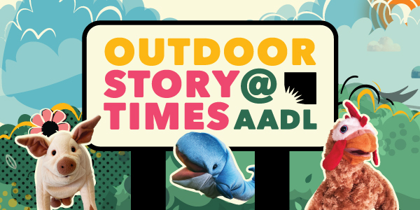 Outdoor Storytimes at AADL