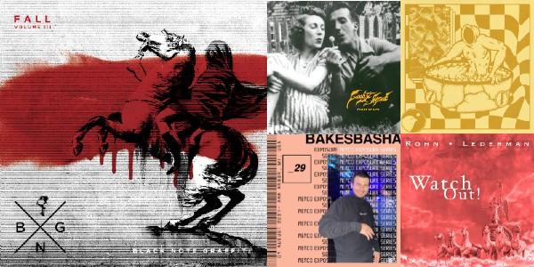 Friday Five is our weekly local music column. This week: Black Note Graffiti, Golden Feelings, Goodyhead, Rohn - Lederman & Bakesbasha.