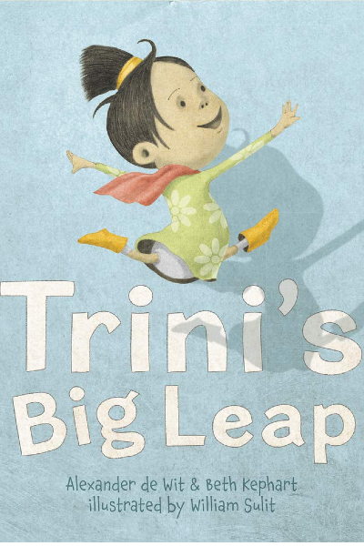 Cover image for Trini's Big Leap