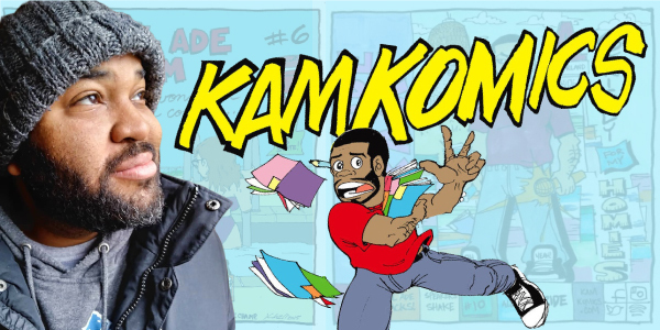 Whether rapping or creating comics, Kamron Reynolds is a creative force. (Note: This post contains mature content.)