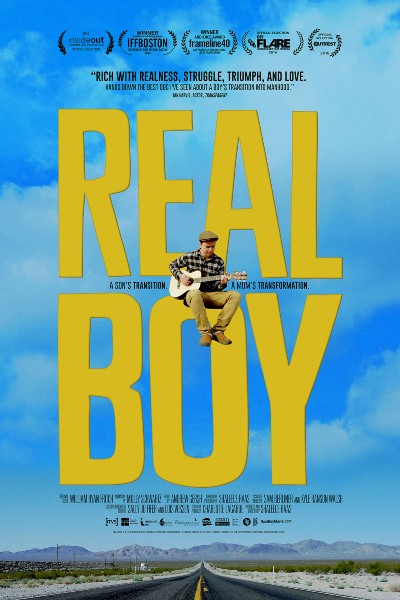 Cover image for Real Boy