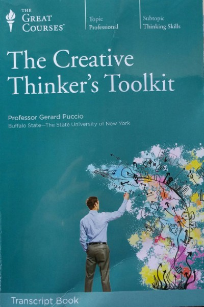 Cover image for The Creative Thinker's Toolkit