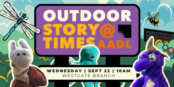 September 22 Outdoor Storytime