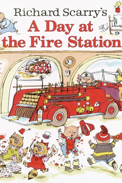 Cover image for A Day at the Fire Station