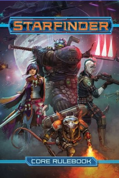 Cover image for Starfinder