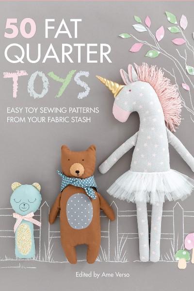 Cover image for 50 Fat Quarter Toys