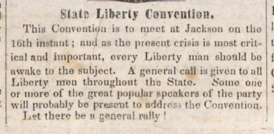 State Liberty Convention image