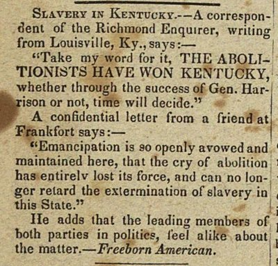 Slavery In Kentucky image
