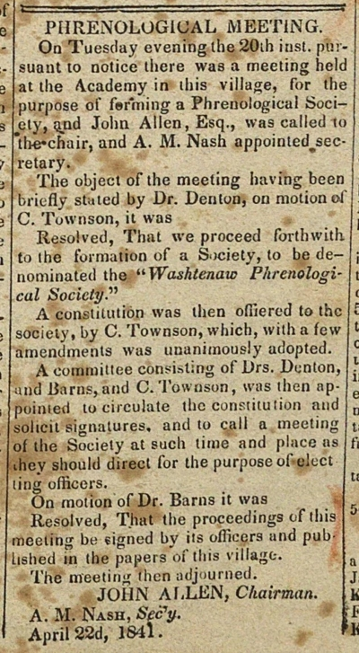 Phrenological Meeting image