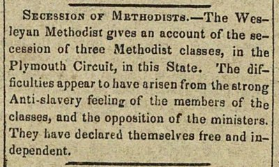 Secession Of Methodists image