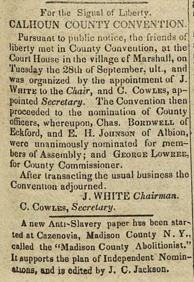 Calhoun County Convention image