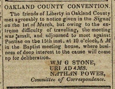 Oakland County Convention image