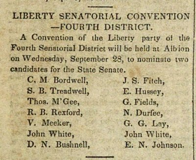 Liberty Senatorial Convention--Fourth District image