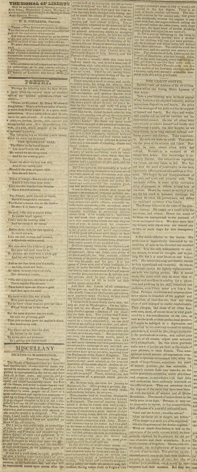Miscellany: Dickens In Washington image
