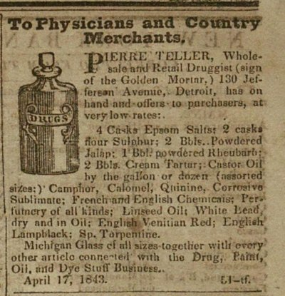To Physicians And County Merchants image