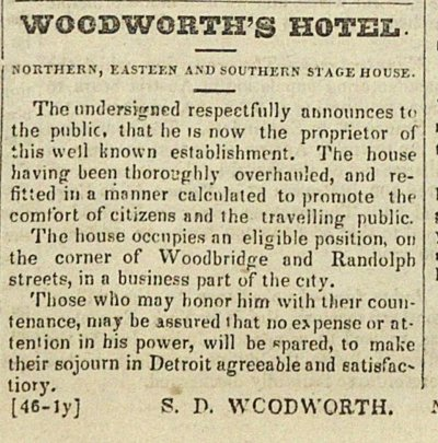 Woodworth's Hotel image