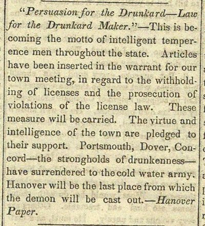 """Persuasion For The Drunkard--Law For The Drunkard Maker."" image"