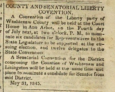 County And Senatorial Liberty Convention image