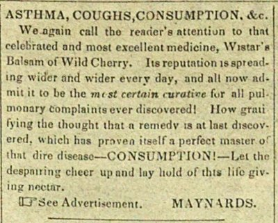 Asthma, Coughs, Consumption, &c. image