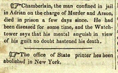 (Chamberlain, The Man Confined In Jail In Adrian On The Cha... image