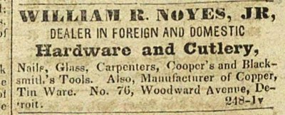 William R. Noyes, Jr, Dealer In Foreign And Domestic Hardwar... image