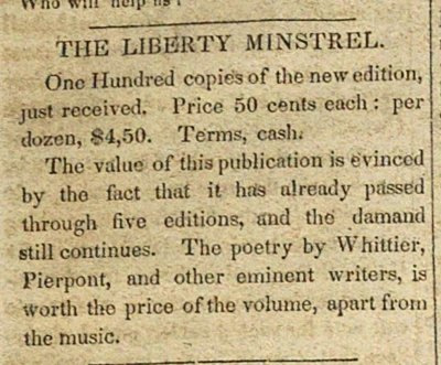 The Liberty Minstrel image