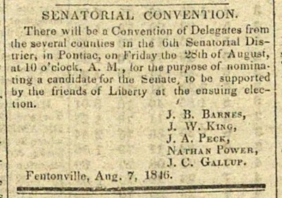 Senatorial Convention image