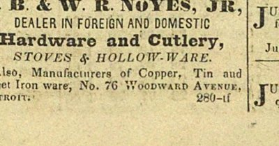 B. B. & W. R. Noyes, Jr, Dealer In Foreign And Domestic image