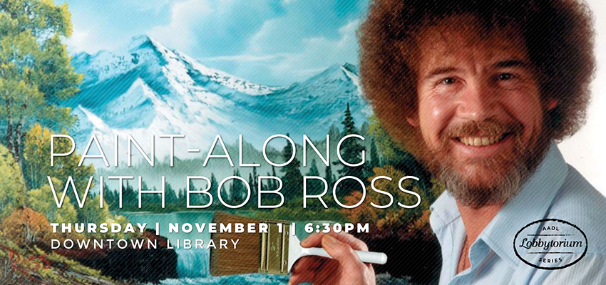 Paint-Along with Bob Ross