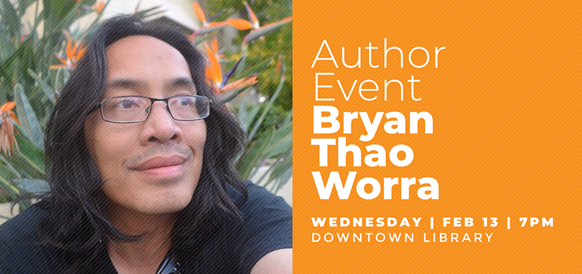 Author Bryan Thao Worra