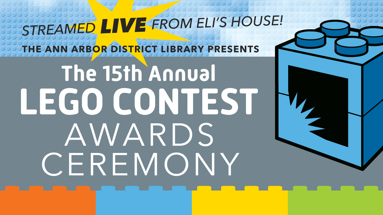 AADL LEGO Contest Awards, Sunday August 23 at 4pm on AADL.TV