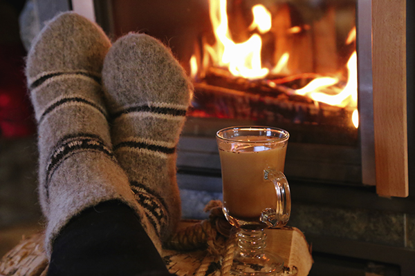 Danish hygge cozy