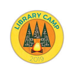 library camp 2019 logo